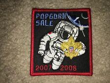 Boy Scout BSA 2007 NASA Sale Space 2008 Trails End Popcorn Uniform Award Patch