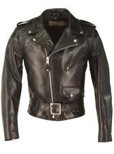 Schott Horsehide Perfecto Black Leather Jacket 618HH New Motocycle Flight Bomber