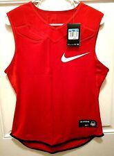 Nike Sleeveless Dri Fit The Opening Red Padded Football Shirt 835345 657 Sz Xxl