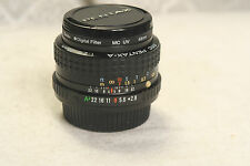 pentax-a 1: 2.8      28mm   SMC   good    condition AA