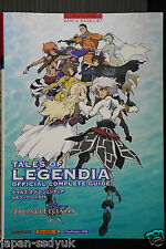 JAPAN Tales of Legendia Official Complete Guide (NAMCO BOOKS)