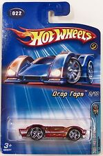 Hot Wheels ~ 2005 First Editions ~ Drop Tops ~ 1957 Nomad ~ Maroon ~ 1/64