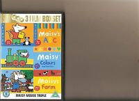 MAISY - ABC / COLOURS AND COUNTING / FARM DVD KIDS 3 DISC SET