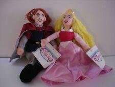 Disney Figurines Plush Toys Mini Bean bag Aurora & Philip Set Of 2