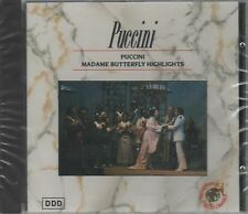 CD PUCCINI MADAME BUTTERFLY HIGHLIGHTS