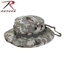 Rothco Wide Brim Military Camo Hunting Fishing Camping Bucket Boonie Hat