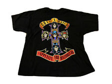 "Guns N Roses ""Appetite For Destruction"" Concert Tour Rock Band T Shirt XXL"