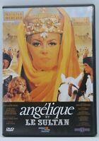 """dvd """" Angélique et le sultan """" Michèle Mercier / Robert Hossein"""