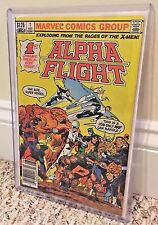 Alpha Flight #1 RARE $1.25 COVER PRICE CGC-RECOGNIZED VARIANT Canadian Newsstand