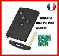 Clé Vierge Pcf7952 Main Libre Compatible Renault Megane 3 Scenic 3 Laguna 3 FR