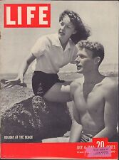 LIFE July 4,1949 Holiday at the Beach / Orwell's 1984 / Joe McCarthy / Baby Mamm