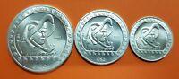 MEXICO 1/4 + 1/2 + 1 ONZA 1992 GUERRERO AGUILA PLATA Oz OUNCE Silver Unze Mejico