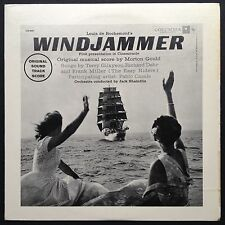 Import! Morton Gould WINDJAMMER Cinemiracle film soundtrack OST LP 1958 Cinerama
