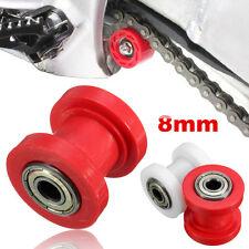 8mm Chain Roller Slider Tensioner Adjuster Pulley Wheel Guide Pit Dirt Bike
