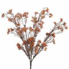 Factory Direct Craft Decorative Artificial Sunburst Orange Blossom Bush for Home