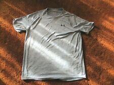 Under Armour Tech Tee, men's size medium, blue t-shirt