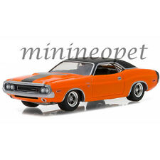 GREENLIGHT 13170 E GL MUSCLE 1970 DODGE CHALLENGER R/T 1/64 DIECAST CAR ORANGE