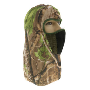 Woodland Camo Hunting Balaclava Face Mask Headwear Sunproof Camouflage Hat