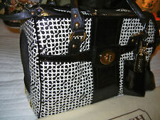 NICE Coach Dog Carrier Cat Pet Tote Travel Bag Penelope Op Art FAST INSURED SHIP