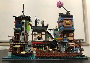 Lego Ninjago City Hafen 70657 nur 1x aufgebaut, Aufkleber noch nicht verwendet