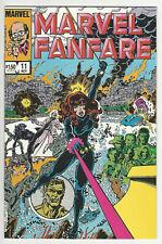 Marvel Fanfare #11 VF/NM 1st app Iron Maiden Black Widow Movie coming soon