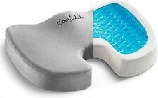ComfiLife GEL Enhanced Seat Cushion – Non-slip Orthopedic & Memory Foam