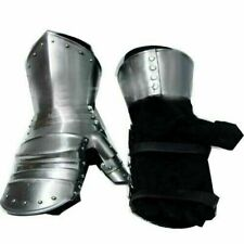 Medieval Functional Armor Battle Clamshell Mitten Gauntlets Glove SCA LARP