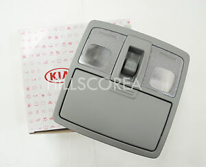 KIA SORENTO 2009 2010 2011 2012 OEM Gray Lamp Assy Overhead Console Sunroof