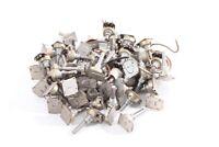 1 x Potentiometer 766 - 1M2 Ohm Drehpotentiometer Schalter DDR vintage
