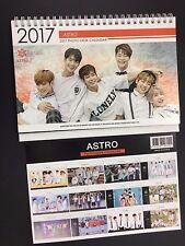 Kpop 2017 & 2018 K pop ASTRO High Quality Official Photo Desk Calendar