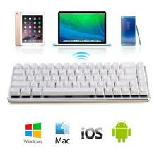 Ajazz Mini Portable Mechanical Keyboard All Metal Body Switches Blue Axis F7W1