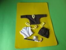 VINTAGE PATCH DOLL HOCKEY OUTFIT CLOTHES 60'S NEW SINDY ORIGINAL