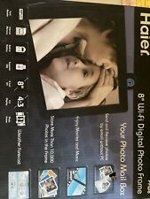 HAIER Digital Picture Frame 8 inch Electronic Digital Photo Frame WIFI