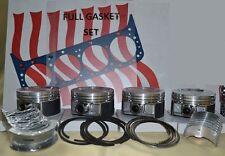 FITS Mitsubishi 4G54 forklift engine kit gas piston gaskets bearings CAT