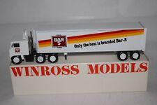 Winross 1985 Bar-S Foods Semi Truck, Nice with Original Box