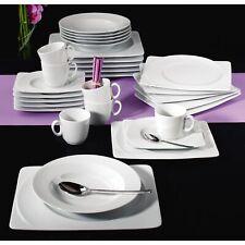Seltmann Weiden Paso White 003 Coffee Set 18-teilig Angular