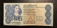 1978 - South African Reserve Bank - 2 Rand Banknote, Serial No. FE 9702158