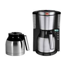 Stainless Steel 10 to 15 Cup Look Therm Timer Coffee Machine with Additional Jug