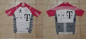Deutsche TELECOM TEAM Cycling Shirt Adidas Pink Cycle Camiseta Vintage