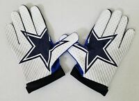 #82 Jason Witten of Dallas Cowboys NFL Locker Room Game Issued Gloves (2XL)