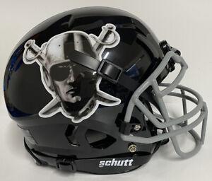 Las Vegas Raiders Custom Full Size Authentic Schutt Vengeance Football Helmet !