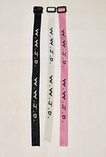 Woven Jesus Religious WWJD (3/Pack) Bracelets Bracelet Fundraiser Wristbands
