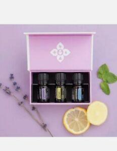 Antibacterial Doterra Essential Oils Intro Kit Lavender Lemon Peppermint.
