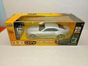 New JADA Toys DUB CITY 2006 CHEVY CAMARO CONCEPT R/C 83007 49MHz