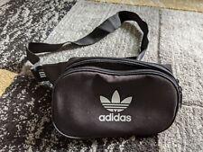 Adidas Originals Bolso Negro WAISTBAG Riñonera Vacaciones De Verano Nuevo