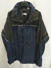 Fila Medium Black and Blue Mens Winter Coat EUC