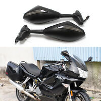 Motorcycle LED Turn Signal Lights Rearview Mirrors For Ducati 1198 1098 848 748