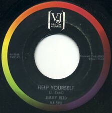 """JIMMY REED Help Yourself/Heading For A Fall 7"""" 1964 Vee Jay EX"""