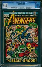 Avengers #105 CGC NM 9.4 Off-White   Marvel Comics Thor Captain America