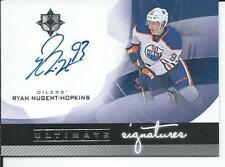 2012-13 UD Ultimate Collection Signatures RYAN NUGENT-HOPKINS #US-RN Autograph